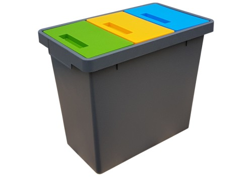Triplex Kosz Do Segregacji Odpadów